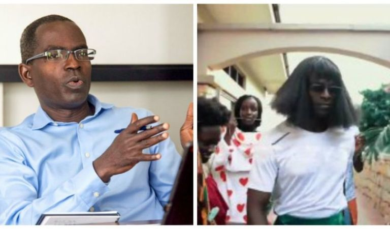 Ashesi Crazy Day: Founder Patrick Awuah dresses like a female