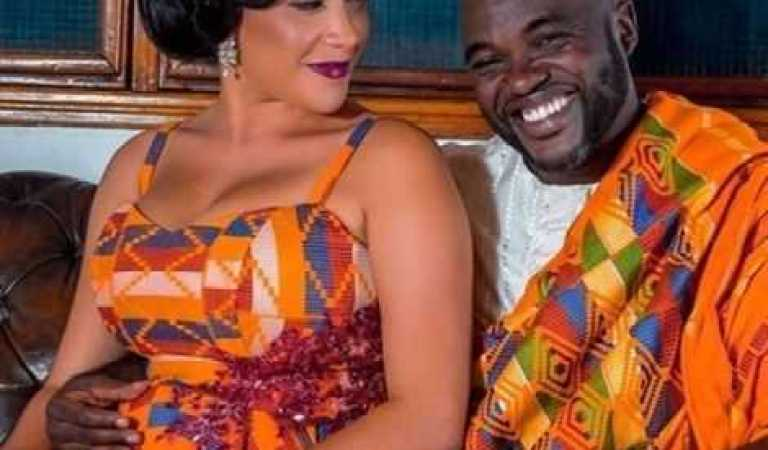 Fred Nuamah's wife Martekor deletes photos of him on her Instagram