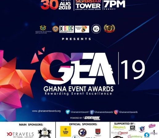 3music Awards, VGMA, Others Nominated For 2019 Ghana Event Awards