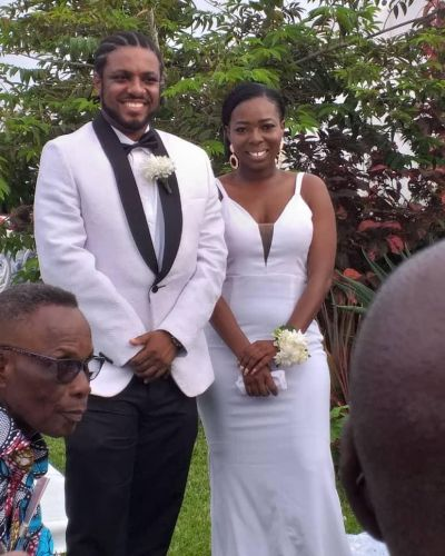 Rapper D-Cryme weds long time girlfriend