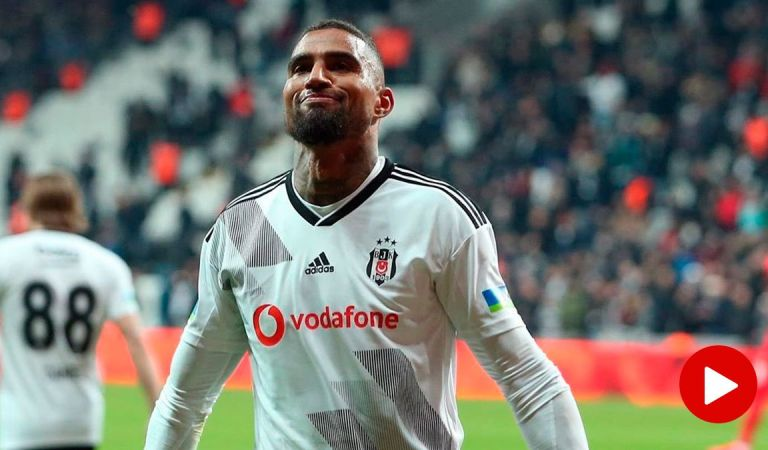 Kevin-Prince Boateng helps Besiktas maintain Champions League hopes