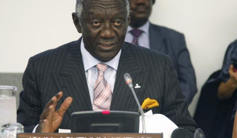 Kufuor exposes how NDC lied to IMF and Ghana was fined US$36 million