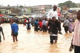 Rainstorm in Nigeria states