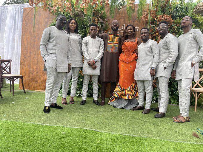 Rev Erskine Marries Nancy