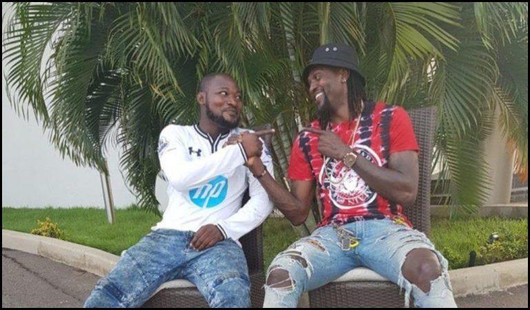 Adebayor reunites with Funny Face at Accra Psychiatric Hospital