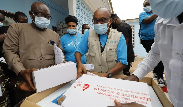 Ghana becomes recipient of historic first shipment of COVAX vaccine