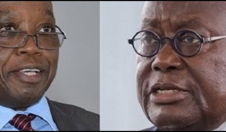 Prez. Akufo-Addo sacks Domelevo with compulsory retirement
