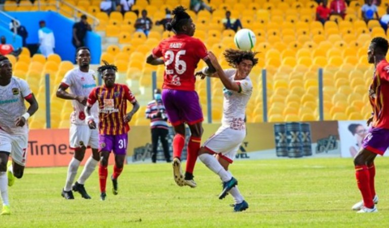 GPL: Hearts win over Kotoko; two more wins from league title
