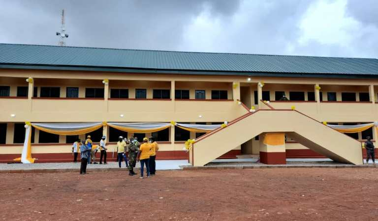 Bawumia lauds MTN for constructing girls dormitory