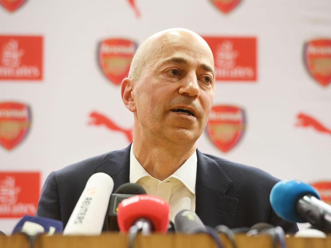 Arsenal chief executive Ivan Gazidis joins AC Milan