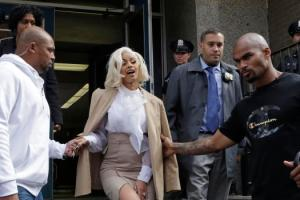 Cardi B charged with reckless endangerment and, turns herself in to police