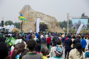 Ex-Nigerian president names baby gorilla after himself