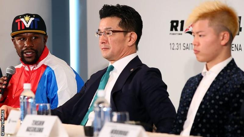 Floyd Mayweather denies agreeing deal to face kickboxer Tenshin Nasukawa