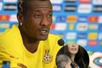 Asamoah Gyan's secret baby in Italy Pops up