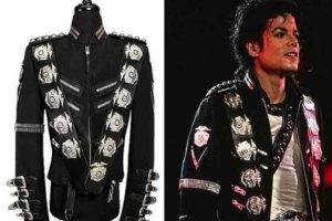 Michael Jackson's 'Bad' tour jacket