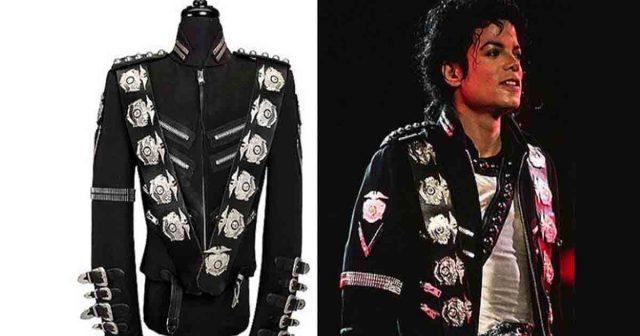 Michael Jackson's iconic'Bad' jacket up for auction