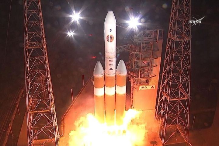 NASA launches first ever parker solar probe to 'touch the sun'