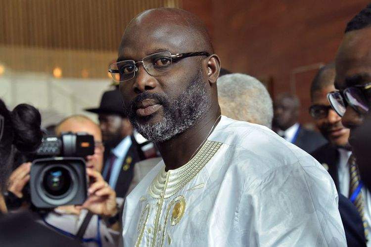 President George Weah takes on inflation and foreign currency shortages