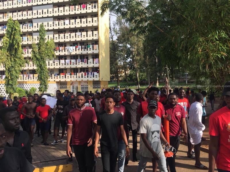 REGSEC orders closure of KNUST, imposes curfew after violent protest
