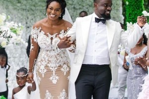 Sarkodie weds longtime girlfriend Tracy (Photos+ Video)