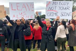 South Africa women protest 3