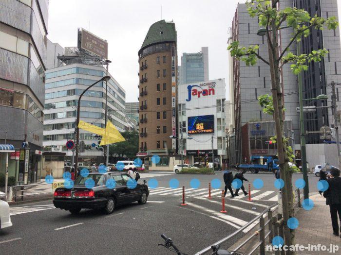 THE ROOM五反田への行き方(JR五反田駅から)②