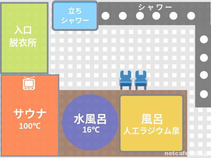 オリエンタル1大浴場イメージ図