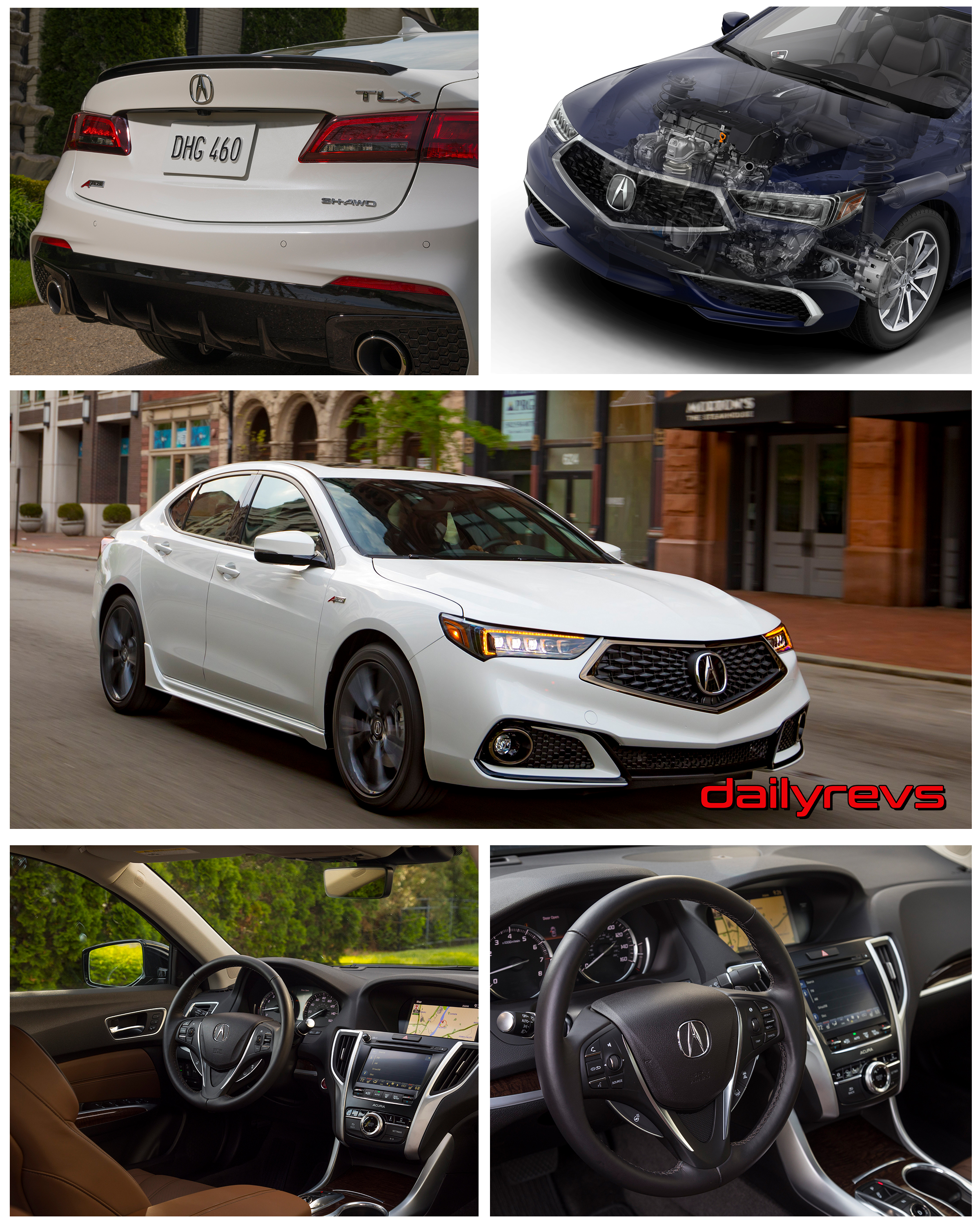 2018 acura tlx hd pictures videos