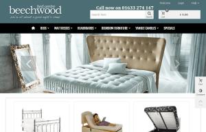 Beechwood Bed Centre (web design & web development)