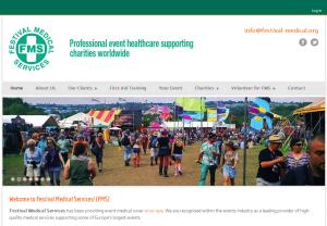 Festival Medical Services (web design & web development)