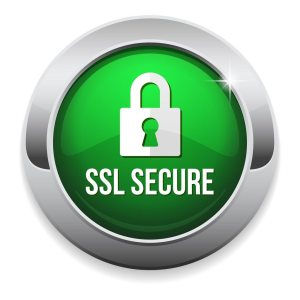 SSL security trust mark