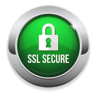 SSL security trust mark