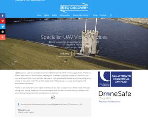 EQ Discovery Ltd. (web design)