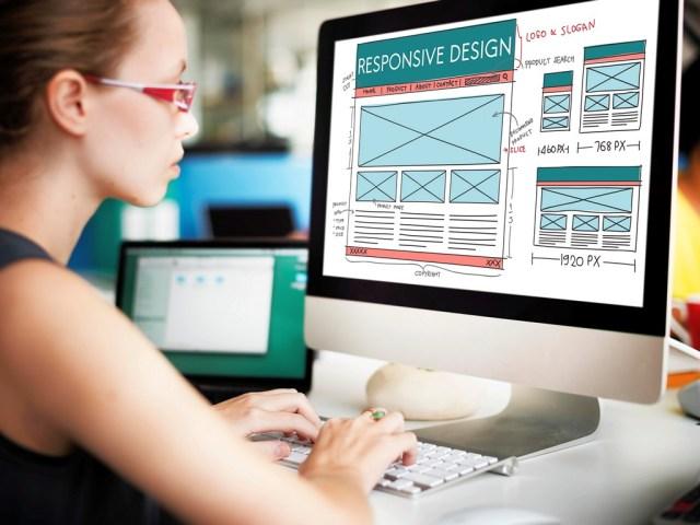 Professional bespoke web design