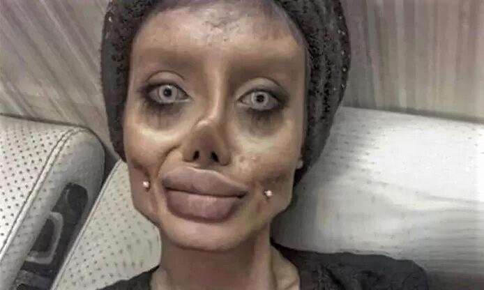 La fausse Angelina Jolie iranienne condamnée à 10 ans de prison