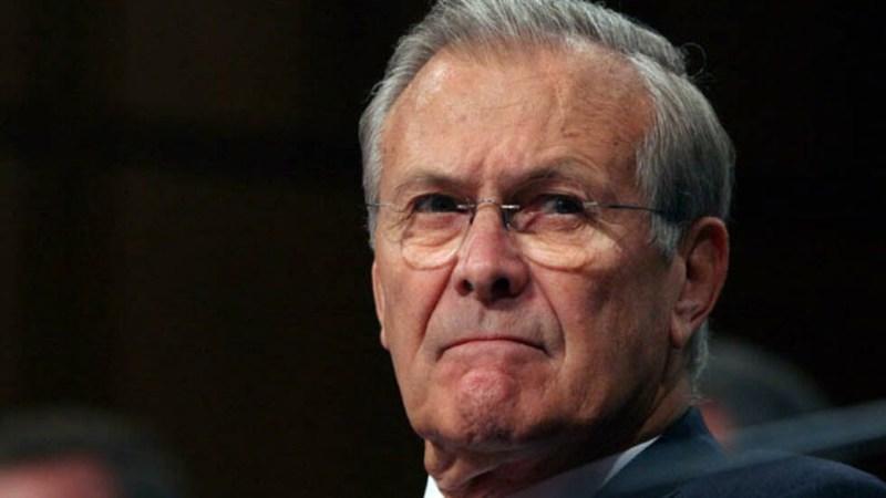 États-Unis: mort de Donald Rumsfeld, ancien chef du Pentagone sous G.W. Bush