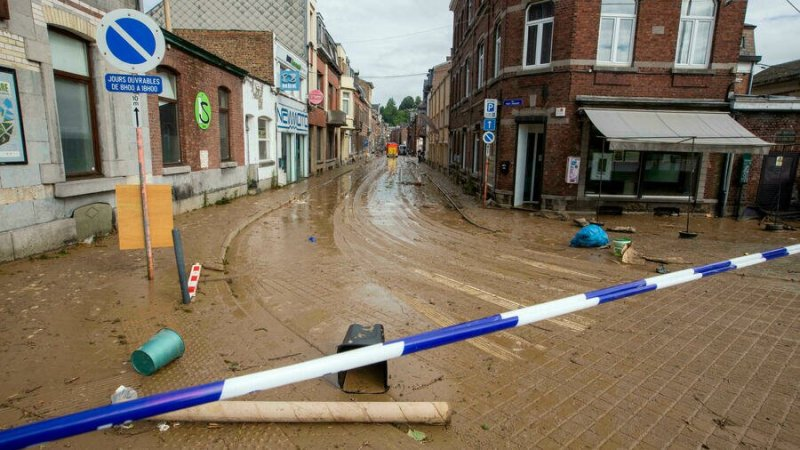 Belgique: de gros dégâts après de nouvelles pluies
