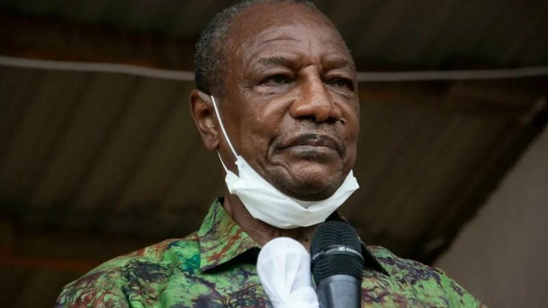 Guinée: la situation d'Alpha Condé au cœur de la mission de la Cédéao à Conakry