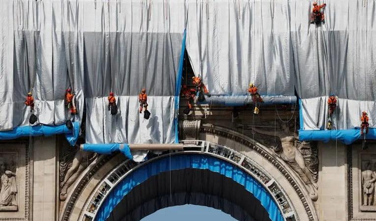 Paris : Pourquoi l'Arc de Triomphe a-t-il été empaqueté ?