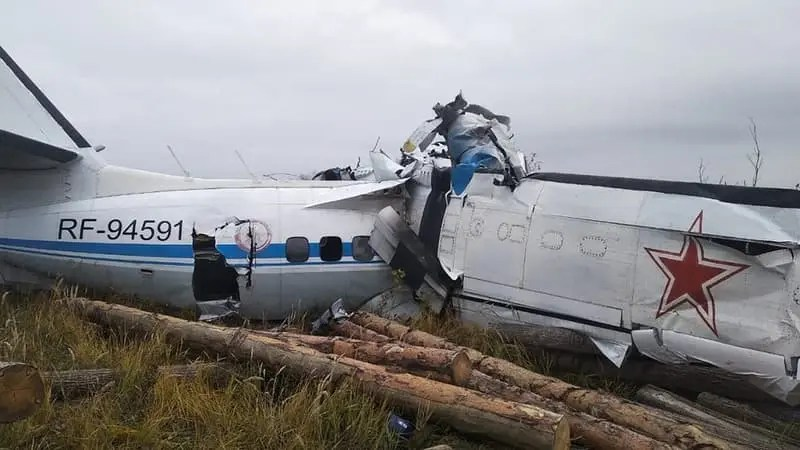 🇷🇺 Russie : seize morts dans le crash d'un avion dans le centre du pays