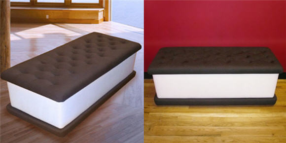 ice cream bench will make your house
