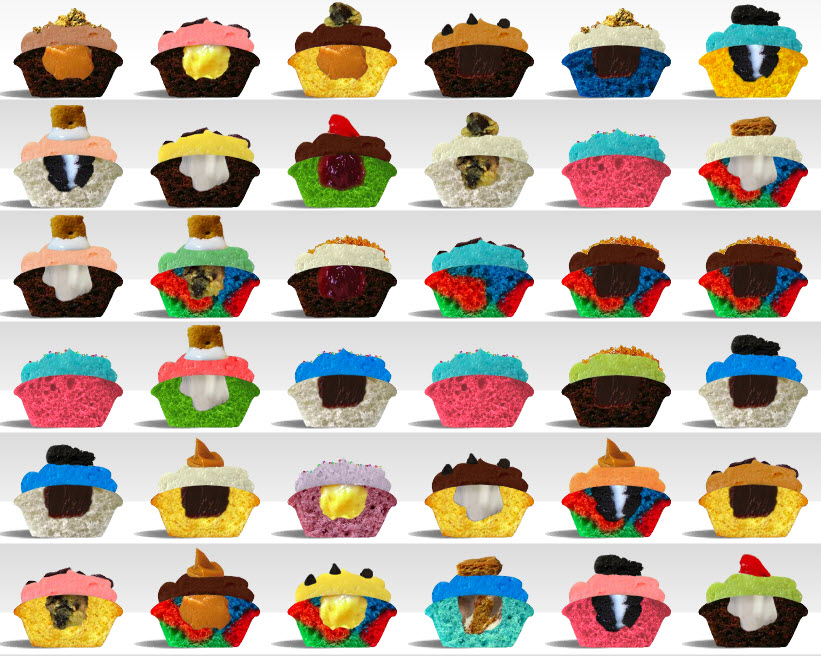 Baked By Melissa Lets You Design Your Own Mini-Cupcakes