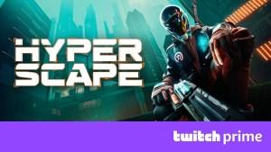 【News】Twitchプライム会員限定、『Hyper Scape(ハイパースケープ)』バトルパス報酬が配布中!