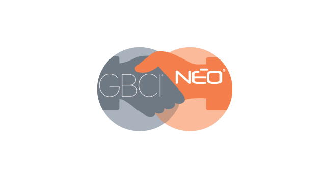 NEO Partners with Green Building Certification Inc. (GBCI)