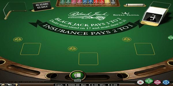 BlackJack Pro Netent Slot