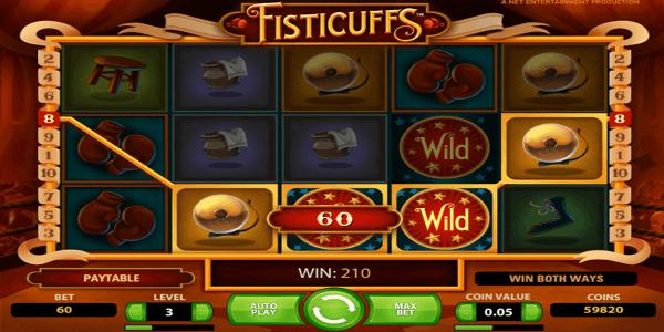 Fisticuffs Netent Slot