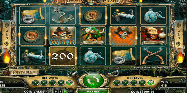 Ghost Pirates Netent Slot