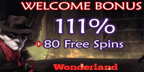 Wonderland Casino promo