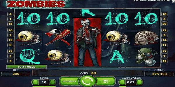 Zombies Netent Slot