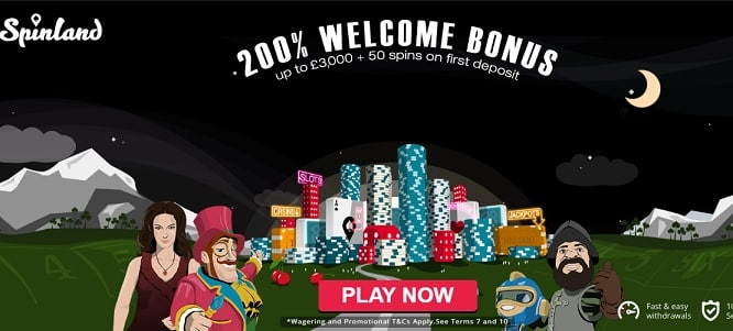 Spinland Casino promotion